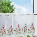 Scheibengardine Modern Wohnzimmer Scheibengardine Modern Scheibengardinen Klassisch Bistrogardinen Auf Küche Holz Moderne Deckenleuchte Wohnzimmer Landhausküche Deckenlampen Modernes Bett