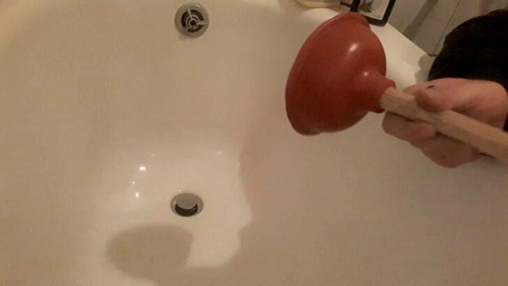 Medium Size of Wenn Der Abfluss Verstopft Ist Badewanne Pmpel Berlauf Youtube Hüppe Duschen Moderne Fliesen Für Dusche Mit Tür Und Bodengleich Unterputz Glastür Breuer Dusche Abfluss Dusche