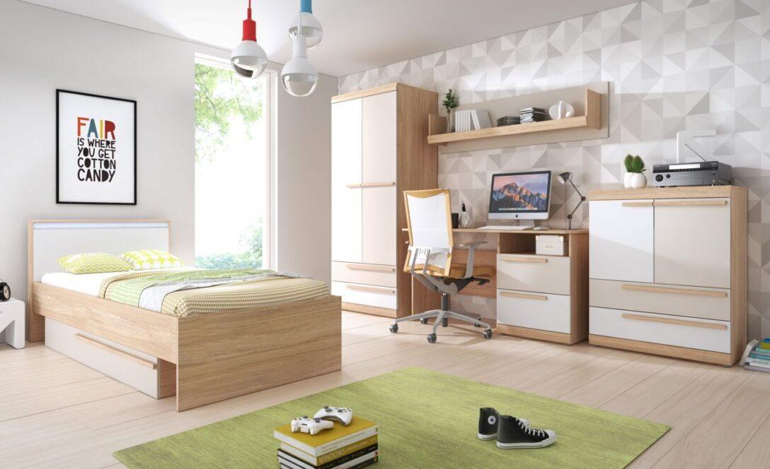 Large Size of Komplett Kinderzimmer Jugendzimmer Set A Hassine Bett 180x200 Mit Lattenrost Und Matratze Komplettküche Komplette Schlafzimmer Badezimmer Komplettangebote Kinderzimmer Komplett Kinderzimmer