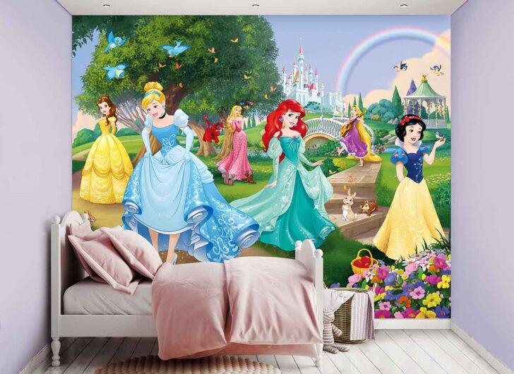 Medium Size of Fototapeten Kinderzimmer Fototapete Disney Prinzessinnen Schloss Tapetenwelt Regal Weiß Wohnzimmer Regale Sofa Kinderzimmer Fototapeten Kinderzimmer