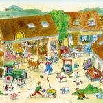 Fototapeten Kinderzimmer Kinderzimmer Livingwalls Fototapete Bauernhof Regal Kinderzimmer Weiß Fototapeten Wohnzimmer Regale Sofa