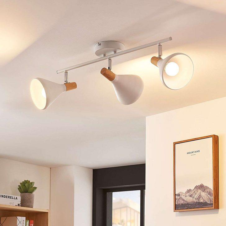 Medium Size of Küche Deckenleuchte Led Deckenlampe Arina 4 Flammig Lampenwelt Kche Vinylboden U Form Arbeitsschuhe Unterschrank Eiche Unterschränke Gardinen Arbeitsplatte Wohnzimmer Küche Deckenleuchte