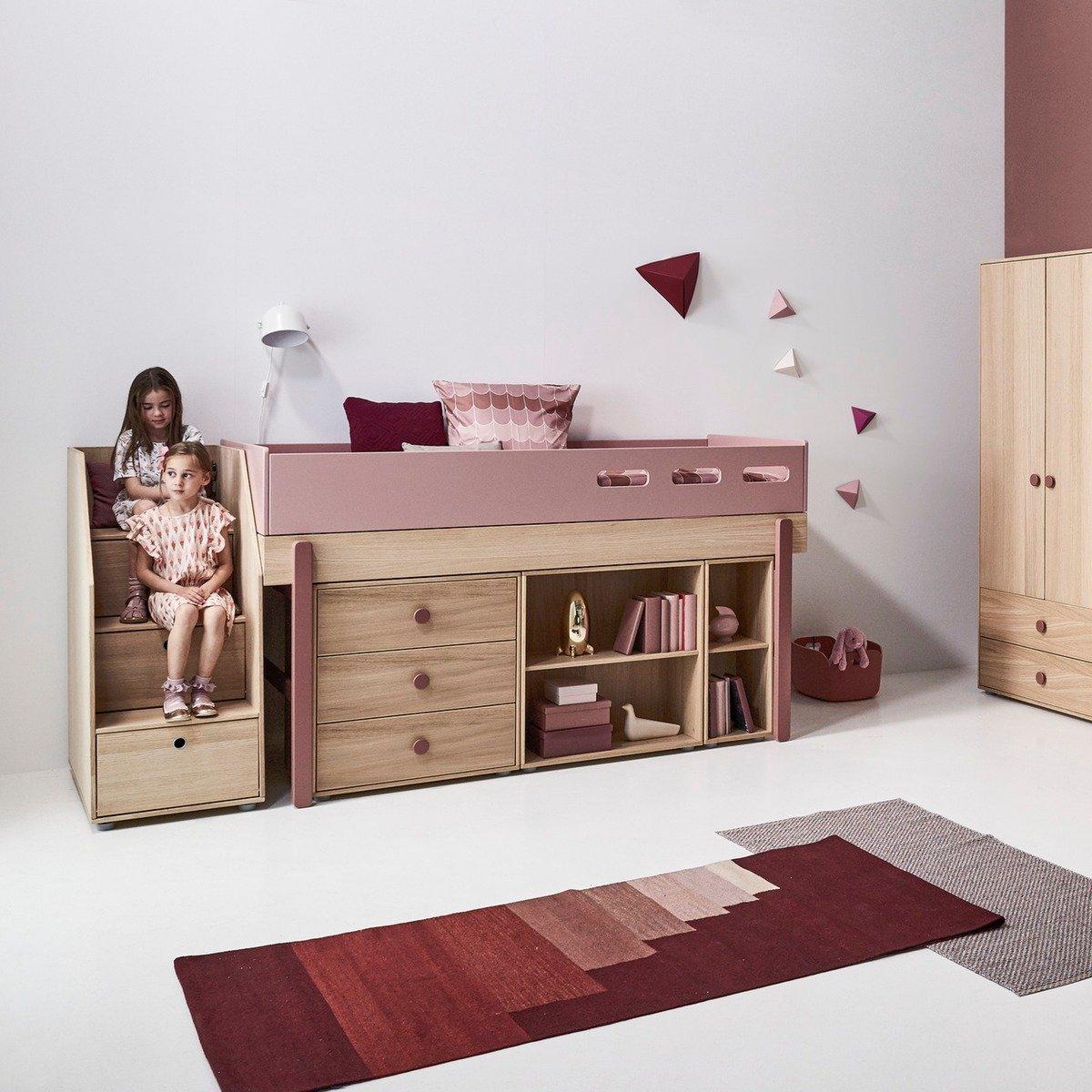 Full Size of Flexa Hochbett Popsicle Mit Treppe Rosa Online Kaufen Kidswoodlove Kinderzimmer Regal Weiß Regale Sofa Kinderzimmer Kinderzimmer Hochbett