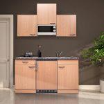 Respekta Kb150bbmi Single Kche Kchenzeile Kchenblock 150 Cm Modulküche Ikea Singleküche Mit E Geräten Kühlschrank Küche Kaufen Betten 160x200 Miniküche Wohnzimmer Singleküche Ikea