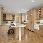 Holzküchen Moderne Holzkche Auf Kchenliebhaberde Wohnzimmer Holzküchen