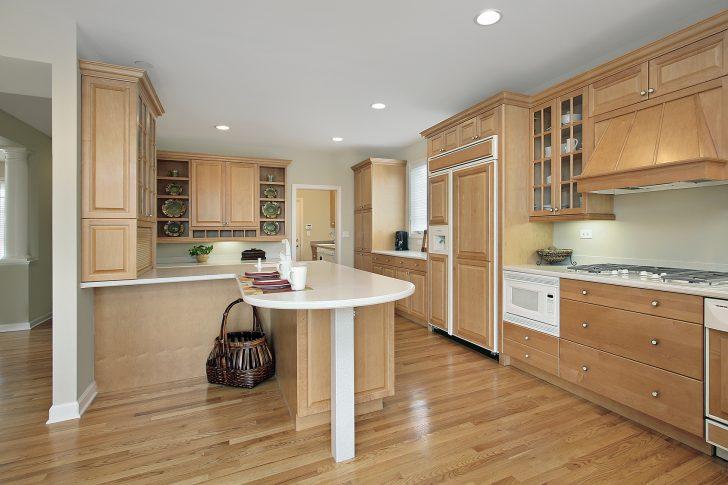 Medium Size of Holzküchen Moderne Holzkche Auf Kchenliebhaberde Wohnzimmer Holzküchen