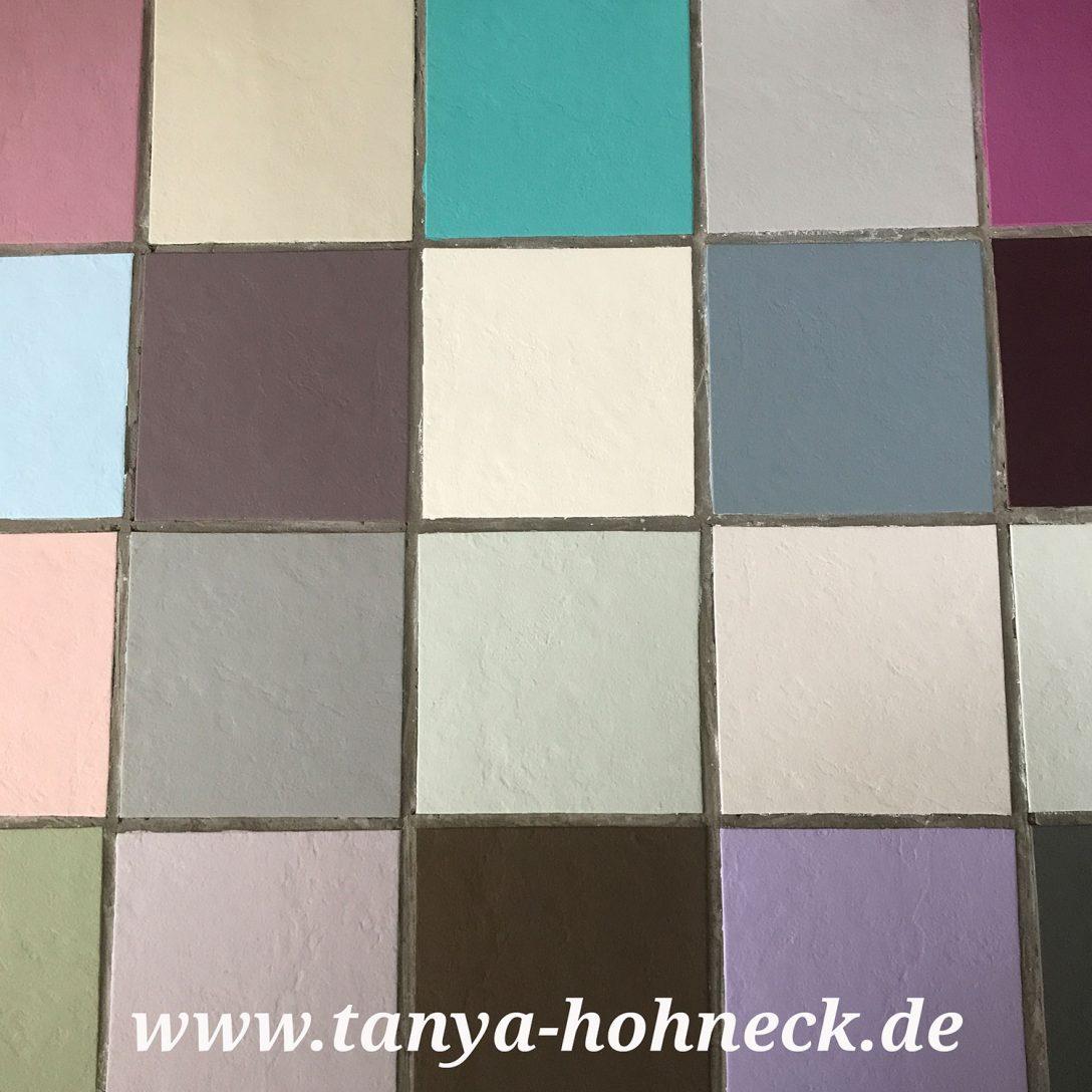 Large Size of Bodenfliesen Streichen Fliesen Autentico Chalk Paint Kreidefarbe Und Bad Küche Wohnzimmer Bodenfliesen Streichen