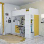 Hochbetten Kinderzimmer Polini Home Hochbett Mit Kleiderchrank Regal Und Weiß Sofa Regale Kinderzimmer Hochbetten Kinderzimmer