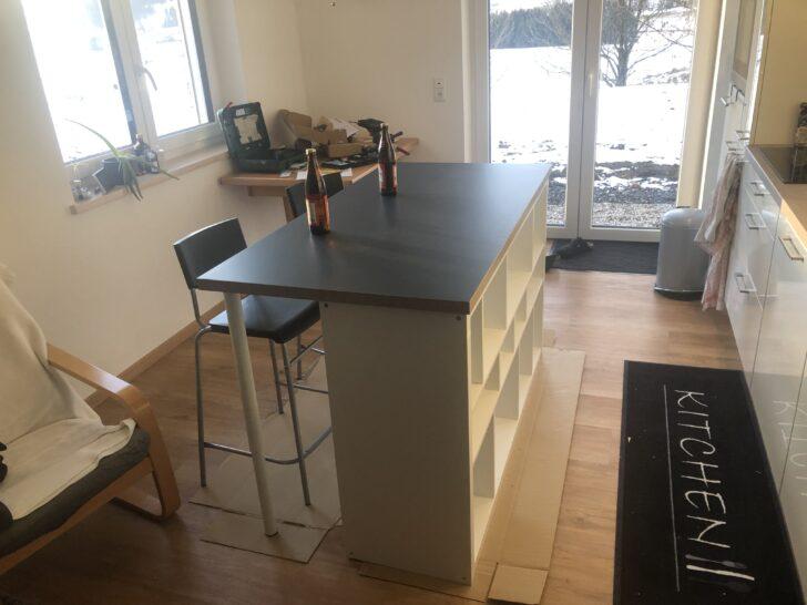 Medium Size of Kcheninsel Diy Mit Ikea Produkten Wohnzimmer Kücheninsel