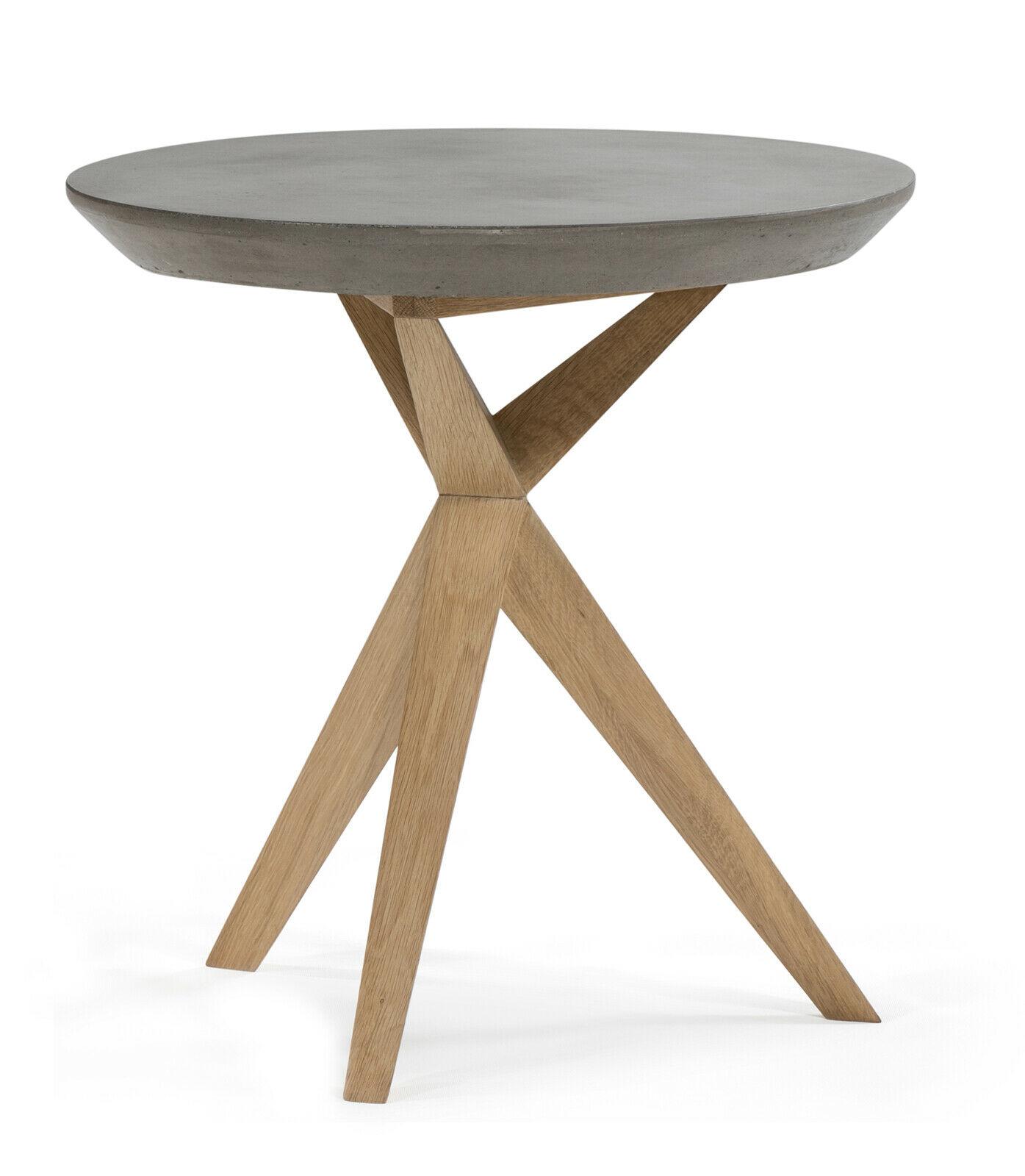 Full Size of Beton Beistelltisch Dekotisch Tischset 2 Teilig Ablage Stahl Esstisch Rustikal Holz Industrial Ausziehbar Massiv Musterring Landhausstil Glas Betonplatte Mit Esstische Esstisch Betonplatte