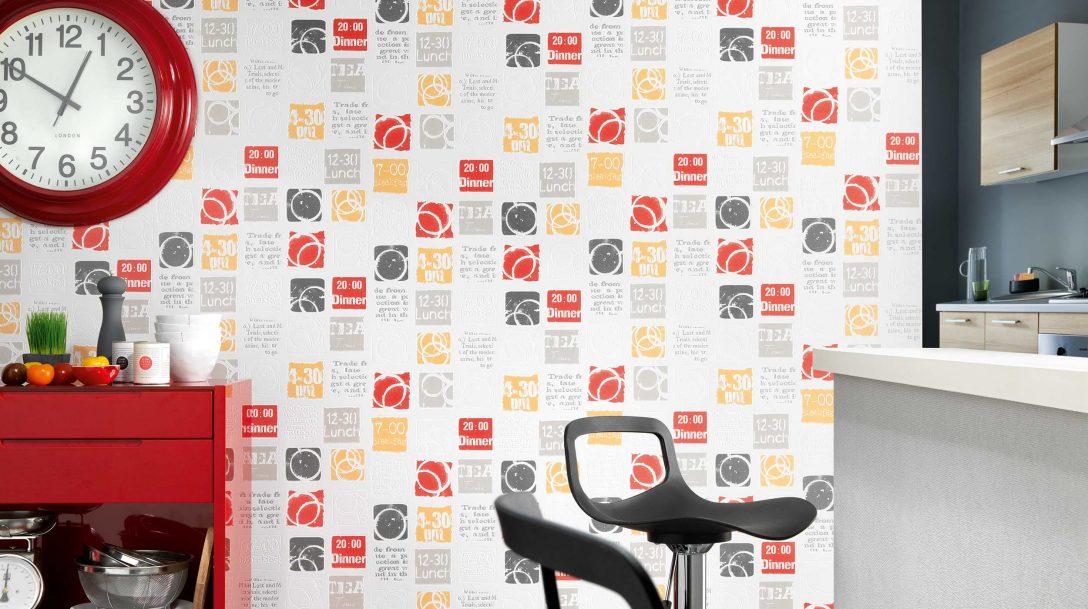 Large Size of Küche Tapete In Der Kche 12 Kreative Idee Und Design Tapeten Fr Landhaus Kinder Spielküche Nischenrückwand Modern Landhausküche Gebraucht Weiß Matt Wohnzimmer Küche Tapete