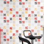 Küche Tapete In Der Kche 12 Kreative Idee Und Design Tapeten Fr Landhaus Kinder Spielküche Nischenrückwand Modern Landhausküche Gebraucht Weiß Matt Wohnzimmer Küche Tapete