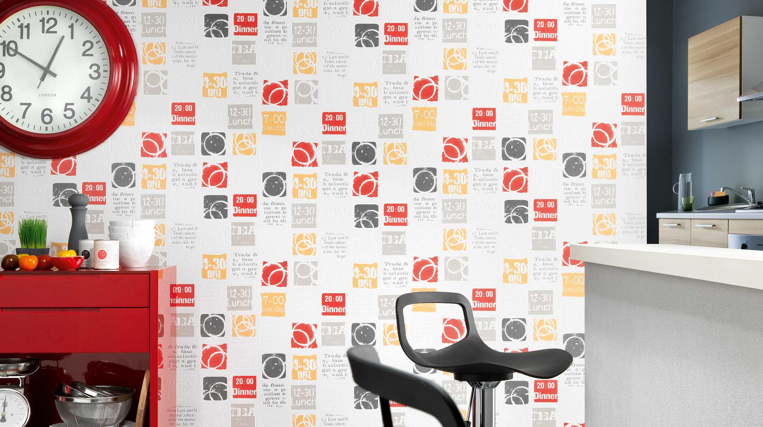 Full Size of Küche Tapete In Der Kche 12 Kreative Idee Und Design Tapeten Fr Landhaus Kinder Spielküche Nischenrückwand Modern Landhausküche Gebraucht Weiß Matt Wohnzimmer Küche Tapete