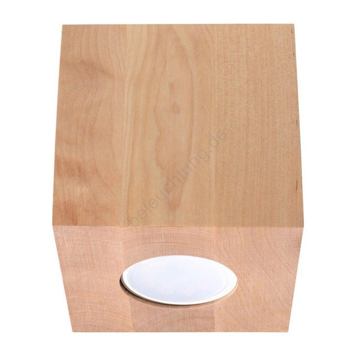 Medium Size of Deckenleuchte Holz Quad 1xgu10 40w 230v Beleuchtungde Deckenleuchten Küche Wohnzimmer Badezimmer Led Bad Massivholz Regal Esstisch Rustikal Alu Fenster Preise Wohnzimmer Deckenleuchte Holz