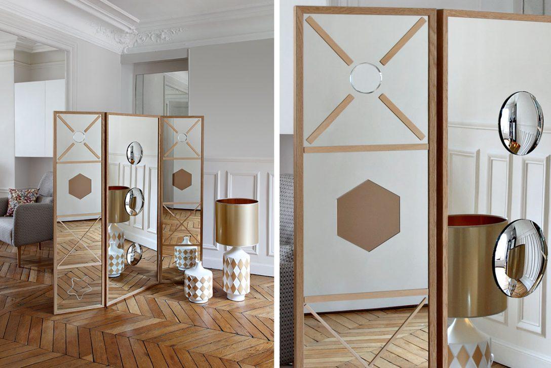 Large Size of Paravent Ikea Un Effet Miroir Maison Crative Küche Kaufen Sofa Mit Schlaffunktion Betten 160x200 Miniküche Garten Kosten Bei Modulküche Wohnzimmer Paravent Ikea