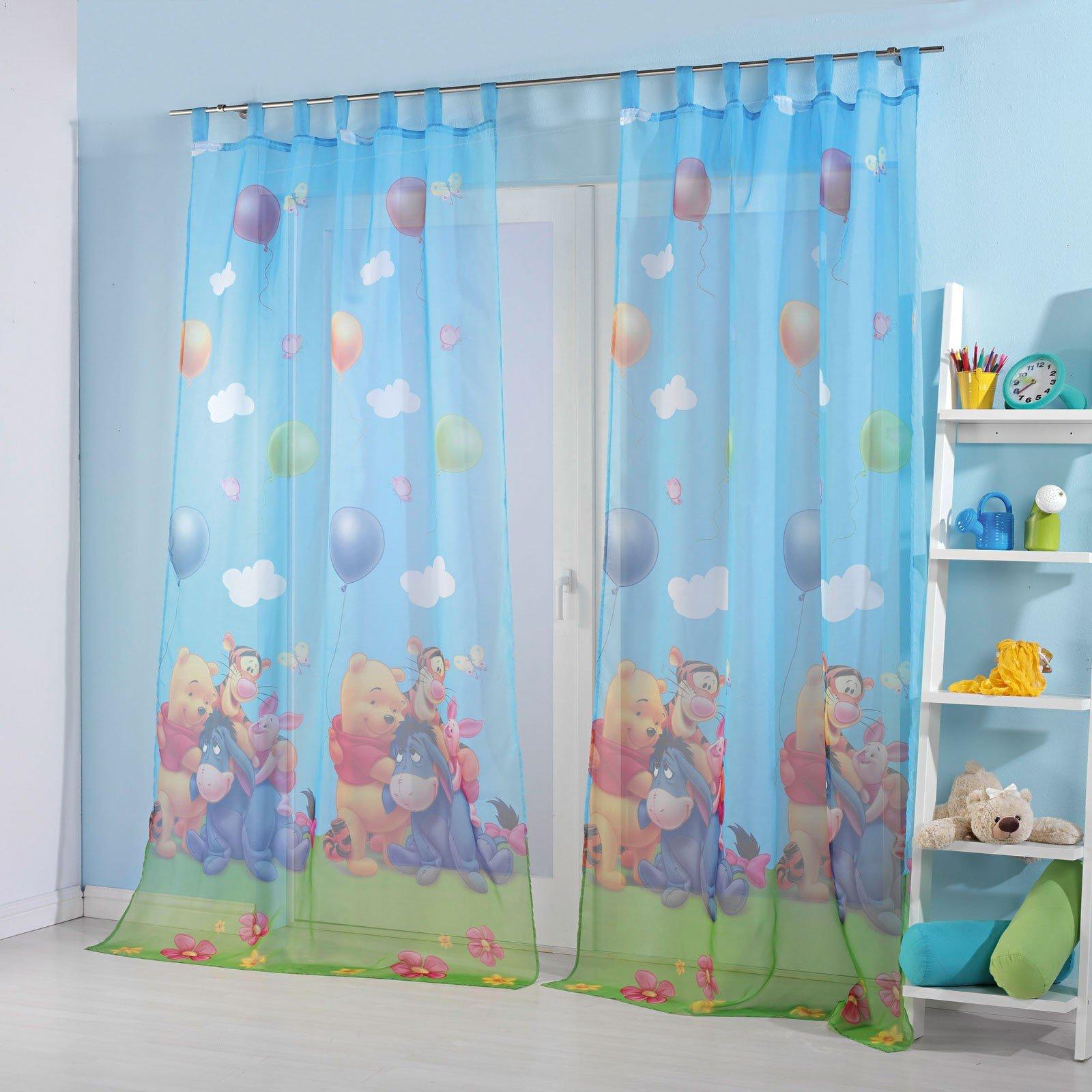 Full Size of Kinderzimmer Vorhang Gardinen Set Motiv Winnie The Pooh Regal Küche Bad Weiß Regale Sofa Wohnzimmer Kinderzimmer Kinderzimmer Vorhang