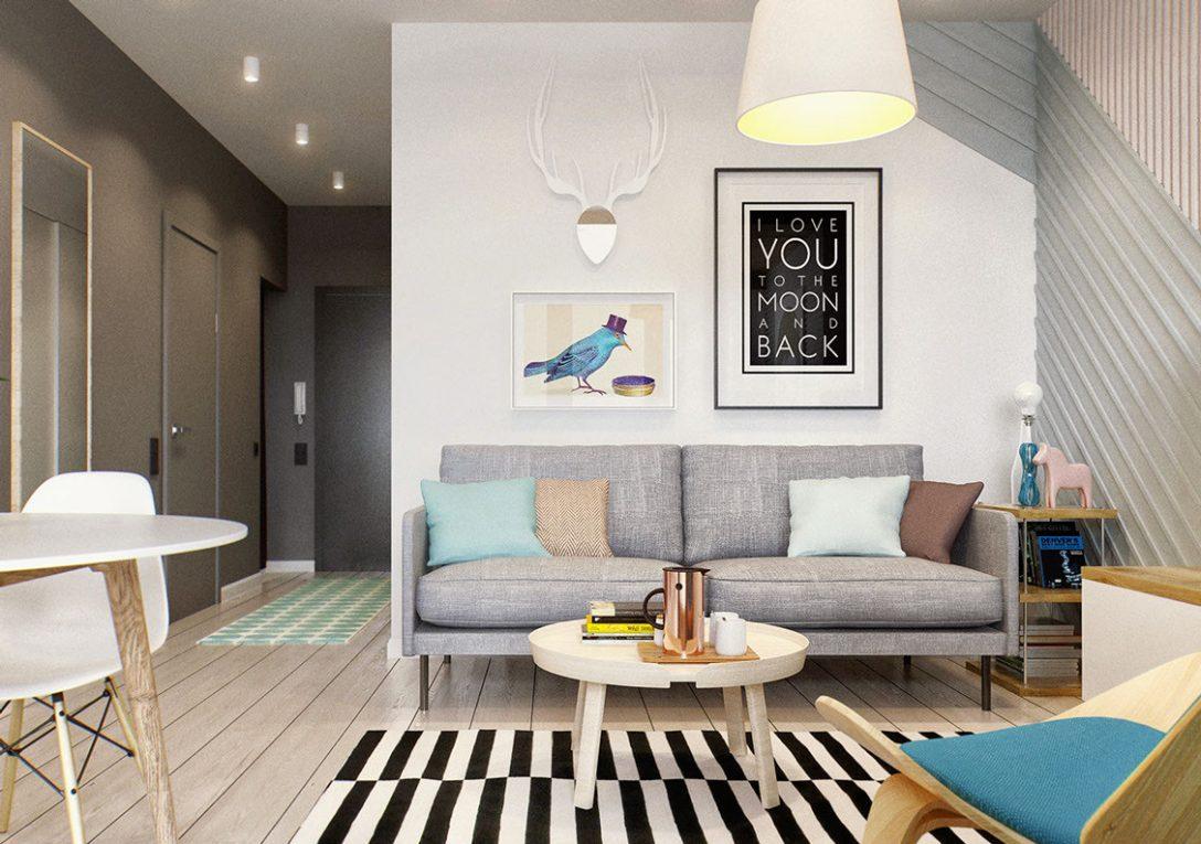 Large Size of Kleine Wohnung Modern Und Funktionell Einrichten Led Beleuchtung Wohnzimmer Deckenleuchte Moderne Landhausküche Wandbilder Relaxliege Pendelleuchte Wohnzimmer Wohnzimmer Einrichten Modern