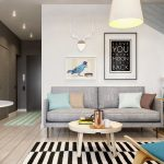 Kleine Wohnung Modern Und Funktionell Einrichten Led Beleuchtung Wohnzimmer Deckenleuchte Moderne Landhausküche Wandbilder Relaxliege Pendelleuchte Wohnzimmer Wohnzimmer Einrichten Modern
