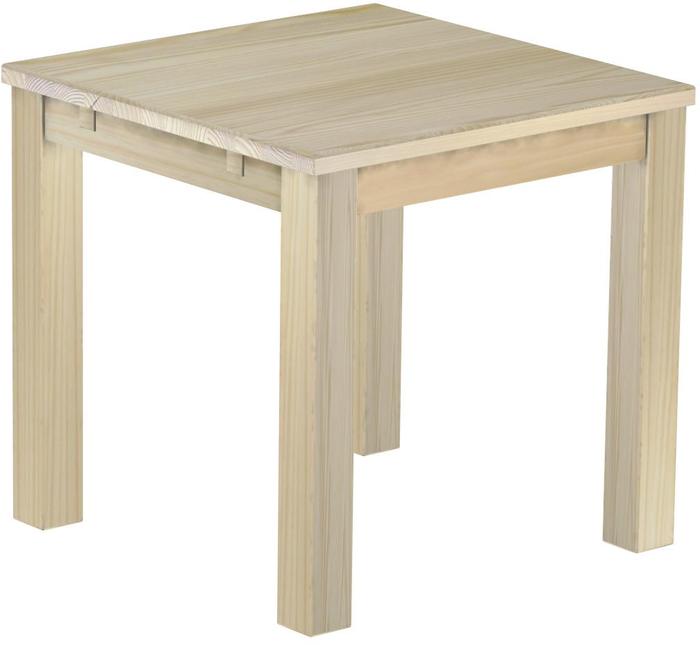Full Size of Tisch 80x80 Pinie Unbehandelt Massive Holz Esstisch Massiv Rund Ausziehbar Stühle Runde Esstische Massivholz Mit Stühlen Deckenlampe Groß Quadratisch Bank Esstische Esstisch 80x80