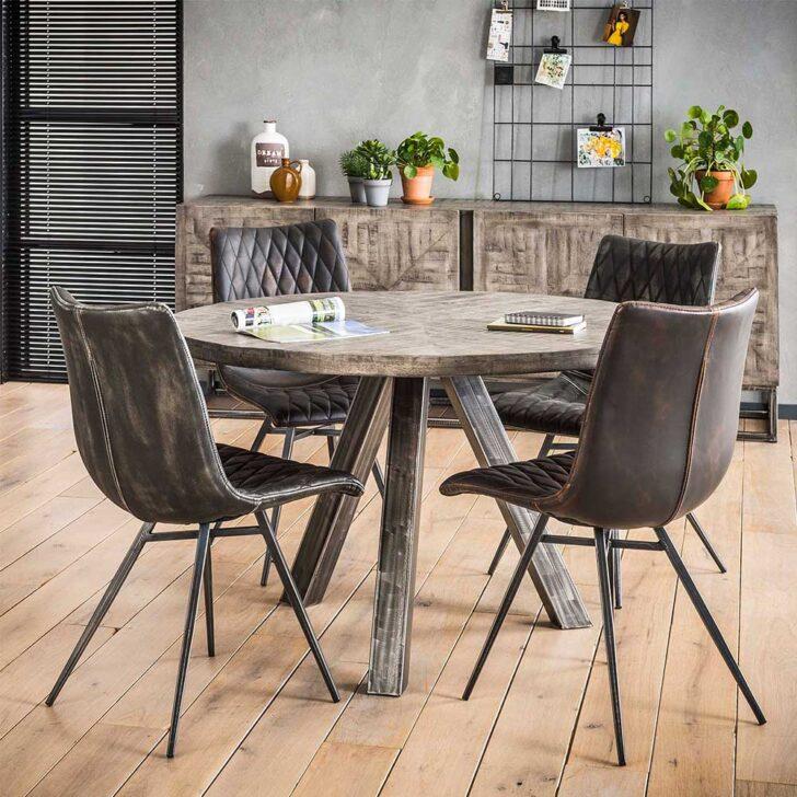 Medium Size of Esstisch Kaufen Runder Liking In Grau Aus Mangobaum Massivholz Und Stahl Mit 4 Stühlen Günstig Big Sofa Quadratisch Shabby Chic Esstischstühle Betten Esstische Esstisch Kaufen