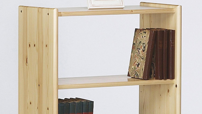 Full Size of Regal Kiefer Axel In Massiv Natur Lackiert Bcherregal 64x100 Cm Kernbuche Bad Weiß Naturholz Regale Aus Europaletten Massivholz Kleines Mit Schubladen Für Regal Regal Kiefer