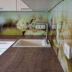 Endlich Unsere Kchenrckwand Hausbau Garten Baby Wohnzimmer Tapeten Ideen Bad Renovieren Wohnzimmer Küchenrückwand Ideen