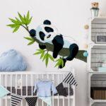 Wandtatoo Kinderzimmer Bilderwelten Wandtattoo Schlafender Panda Online Sofa Regal Weiß Regale Küche Kinderzimmer Wandtatoo Kinderzimmer