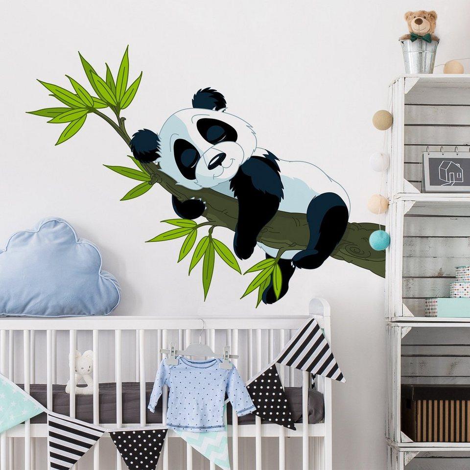 Full Size of Wandtatoo Kinderzimmer Bilderwelten Wandtattoo Schlafender Panda Online Sofa Regal Weiß Regale Küche Kinderzimmer Wandtatoo Kinderzimmer