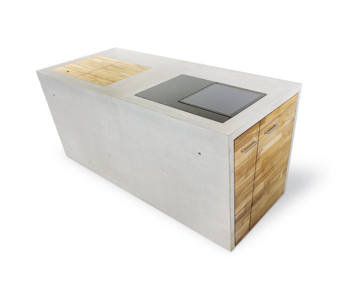 Large Size of The Concrete Outdoor Kche Architonic Küche Salamander Vinylboden Einbauküche Ohne Kühlschrank Spüle Beistellregal U Form Mit Theke Tapete Einzelschränke Wohnzimmer Outdoor Küche Beton