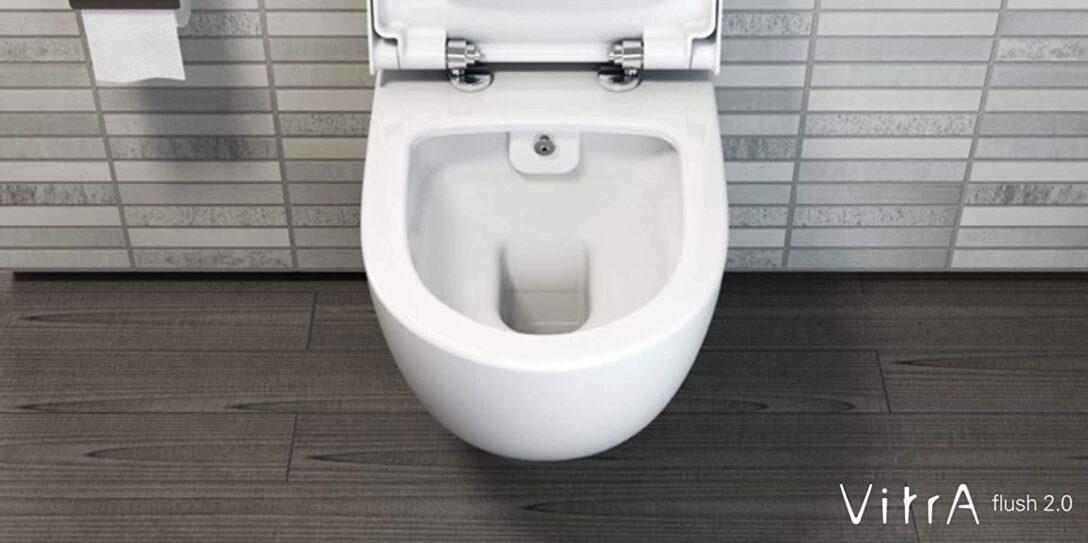 Large Size of Dusch Wc Vitra Sento Splrandlos Wand Mit Soft Close Sitz Bidet Bodengleiche Dusche Ebenerdige Hüppe Duschen Hsk Badewanne Tür Und Begehbare Sprinz Aufsatz Dusche Dusch Wc
