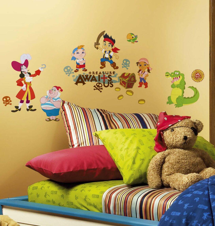 Large Size of Piraten Kinderzimmer Wandsticker Jake Nimmerland Tapetenwelt Regale Sofa Regal Weiß Kinderzimmer Piraten Kinderzimmer