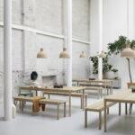 Pendelleuchte Esstisch Unfold Von Muuto Connox Holz Rustikal Runder Ausziehbar Designer Lampen Weiss Mit Stühlen Stühle Kleiner Weiß Vintage Esstischstühle Esstische Pendelleuchte Esstisch