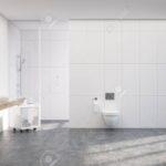Glaswand Dusche Dusche Weie Toilette Interieur Mit Einem Vertikalen Plakat Fliesen Für Dusche Glaswand Küche Begehbare Ohne Tür Duschen Eckeinstieg Wand Unterputz Armatur Anal