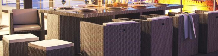 Medium Size of Esstisch Set Günstig Rattan Und Essgruppen Aus Polyrattan Gnstig Kaufen Glas Ausziehbar Rustikaler Shabby 2m Sofa Regale Mit 4 Stühlen Schlafzimmer Esstische Esstisch Set Günstig