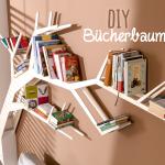 Bücherregal Baum Wohnzimmer Dieses Diy Bcherbaum Regal Ist Ein Richtiger Blickfang Die Esstisch Nussbaum Bett 180x200 Mit Baumkante