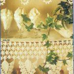 Gardine Häkeln Wohnzimmer Gardine Häkeln Burda Special Spitzenhkeln Tischdecken Wohnzimmer Gardinen Für Scheibengardinen Küche Schlafzimmer Fenster Die
