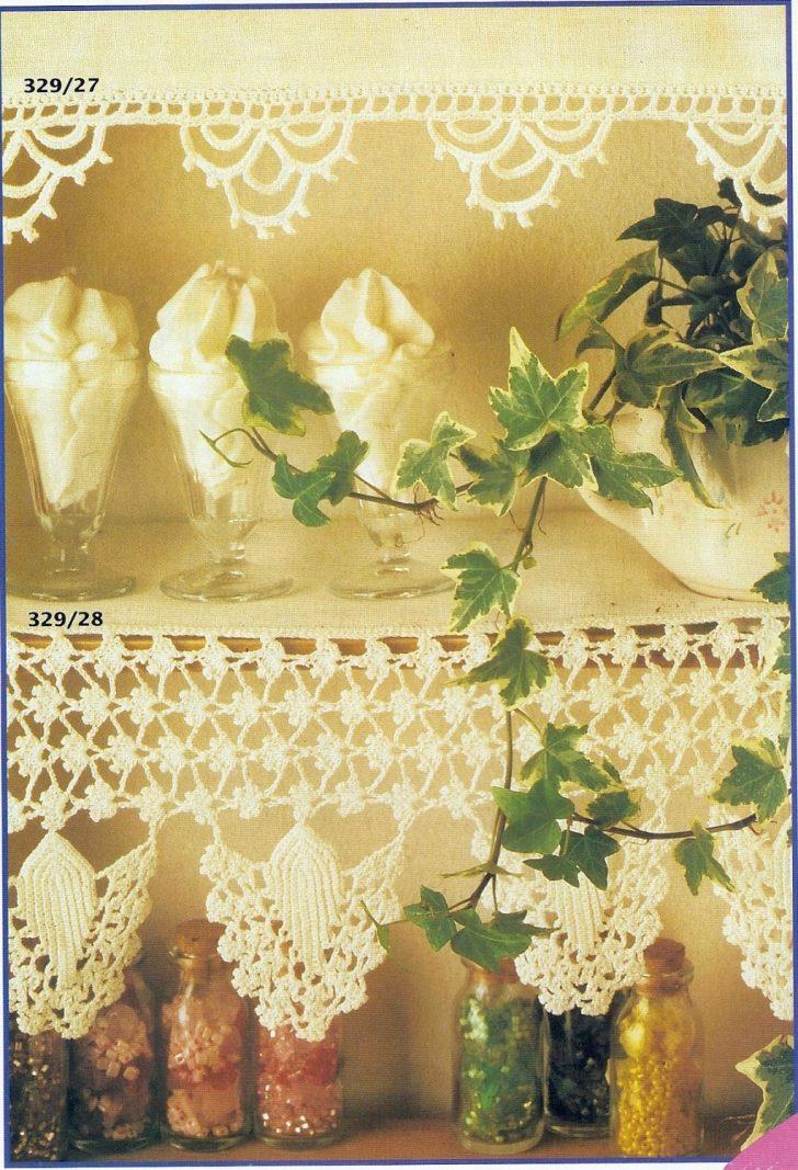 Medium Size of Gardine Häkeln Burda Special Spitzenhkeln Tischdecken Wohnzimmer Gardinen Für Scheibengardinen Küche Schlafzimmer Fenster Die Wohnzimmer Gardine Häkeln