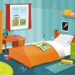 Kinderzimmer Bücherregal Kinderzimmer Bücherregal Illustration Einer Karikatur Mit Jungen Ein Regale Regal Weiß Sofa