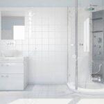 Moderne Duschen Dusche Innenraum Hellen Weien Bad Mit Waschbecken Und Dusche Schulte Duschen Werksverkauf Fürs Wohnzimmer Landhausküche Esstische Begehbare Breuer Sprinz Bett