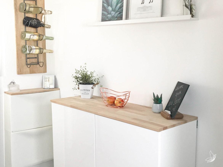 Full Size of Ikea Hack Metod Wandschrank Als Sideboard Teil Ii Möbelgriffe Küche Aufbewahrung Was Kostet Eine Neue Blende Modern Weiss Bauen Led Deckenleuchte Selbst Wohnzimmer Küche Sideboard