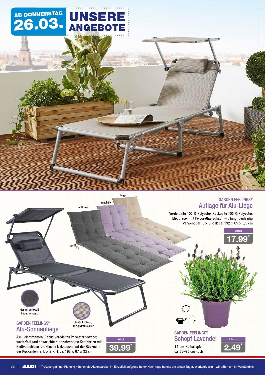 Full Size of Sonnenliege Aldi Nord Angebote Ab Montag 23032015 By Onlineprospekt Relaxsessel Garten Wohnzimmer Sonnenliege Aldi