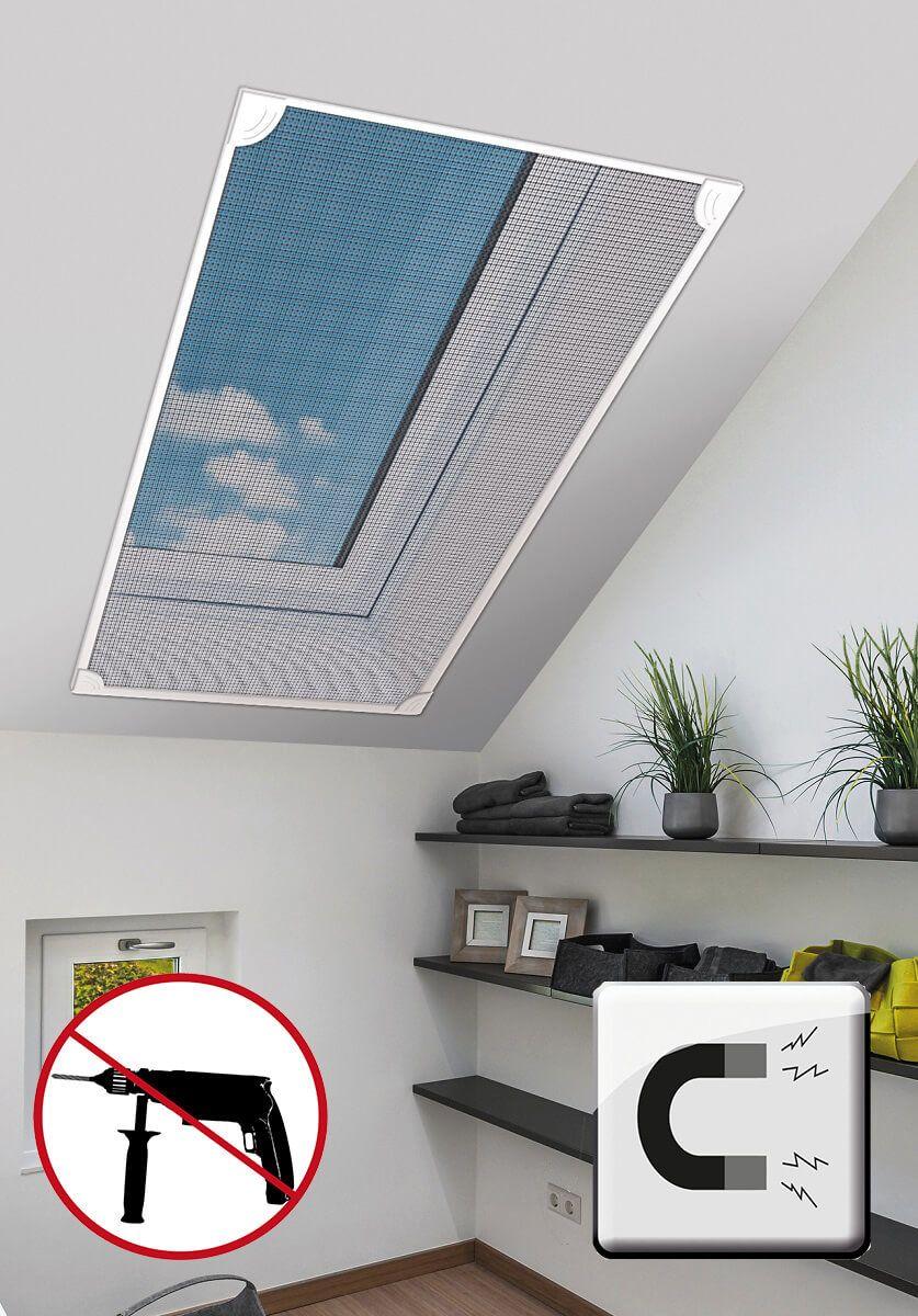 Full Size of Fliegengitter Magnet Schellenberg Insektenschutz Magnetisches Dachfenster Fenster Magnettafel Küche Für Maßanfertigung Wohnzimmer Fliegengitter Magnet