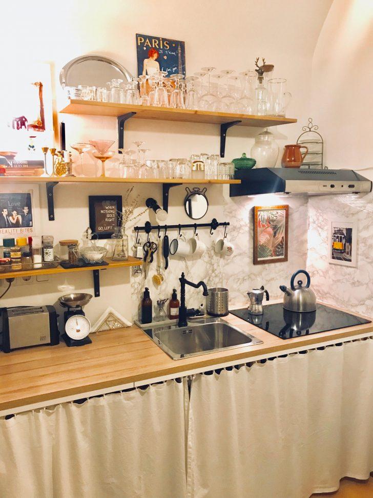 Medium Size of Küche Selbst Bauen Meine Kleine Kche Von Meinem Super Tollen Und Talen Eiche Modul Freistehende Wandtattoo Nischenrückwand Pendelleuchten Landhaus Wohnzimmer Küche Selbst Bauen