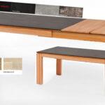 Standard Furniture Manzano Esstisch Ausziehbar Massiv Mit Glas Eiche Esstische Holz 160 Pendelleuchte Ausziehbarer 80x80 Betonplatte 4 Stühlen Günstig Esstische Esstisch Ausziehbar Massiv
