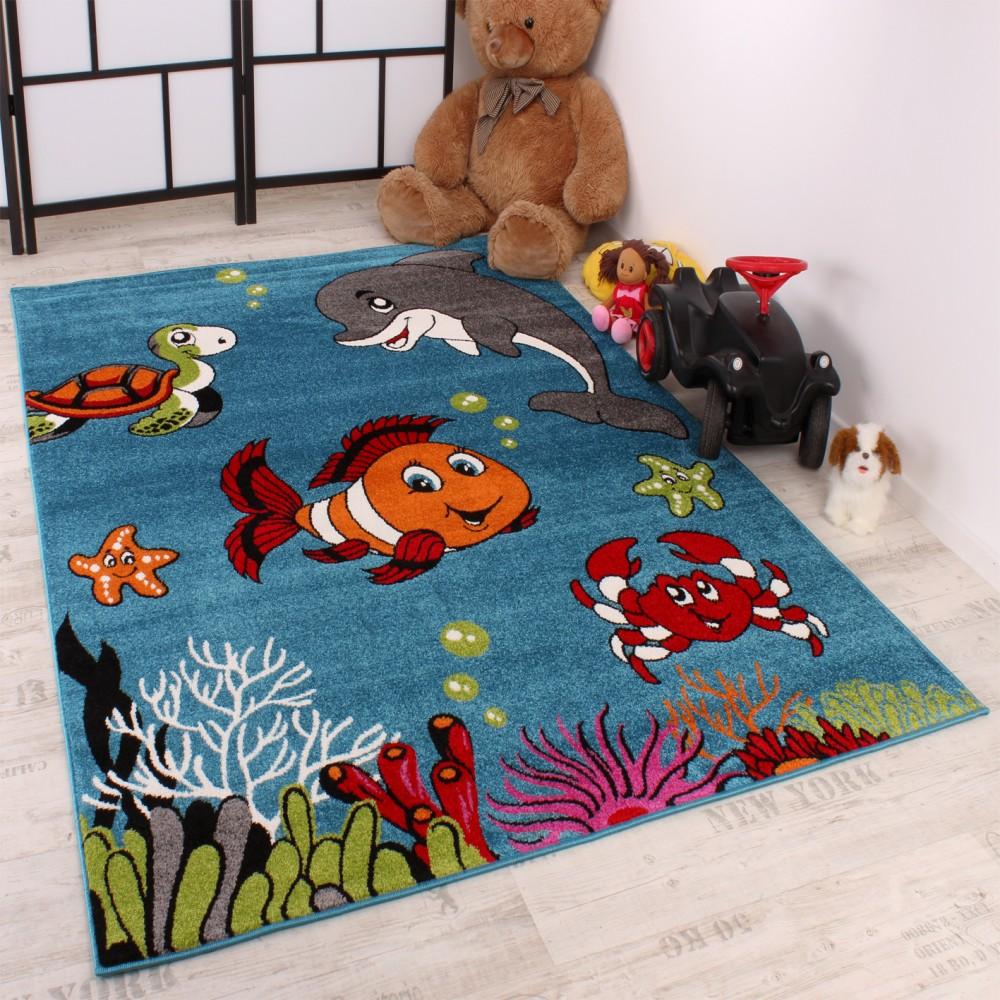 Full Size of Teppiche Für Kinderzimmer Kinderteppich Clown Fisch Aqua Teppich Real Spielgeräte Den Garten Regal Ordner Such Frau Fürs Bett Tapeten Küche Bilder Kinderzimmer Teppiche Für Kinderzimmer
