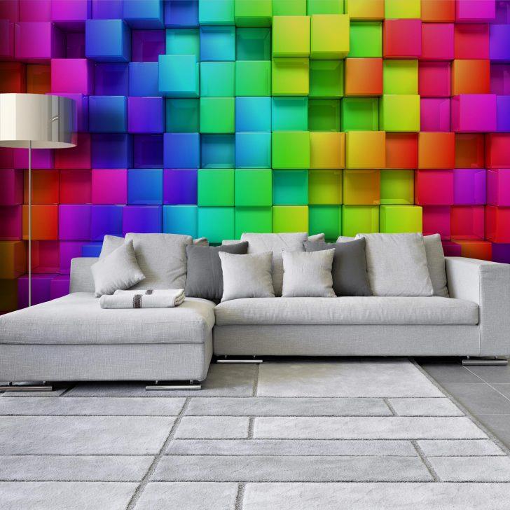Medium Size of 3d Tapeten Optik Tapete Wrfel Vliestapete Breit Fototapeten Wohnzimmer Für Küche Ideen Die Schlafzimmer Wohnzimmer 3d Tapeten