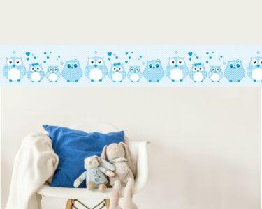 Bordüren Kinderzimmer Kinderzimmer Vlies Bordre Selbstklebend Frs Kinderzimmer Patchwork Blau Regal Regale Weiß Sofa