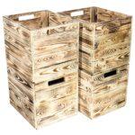 Kisten Regal Regal Kisten Regal 4er Set Geflammte Gebrannte Kiste Fr Kallaregal Real Küchen 80 Cm Hoch Glasregal Bad Amazon Regale Offenes Weiß Wein Weiße Vorratsraum Schräge