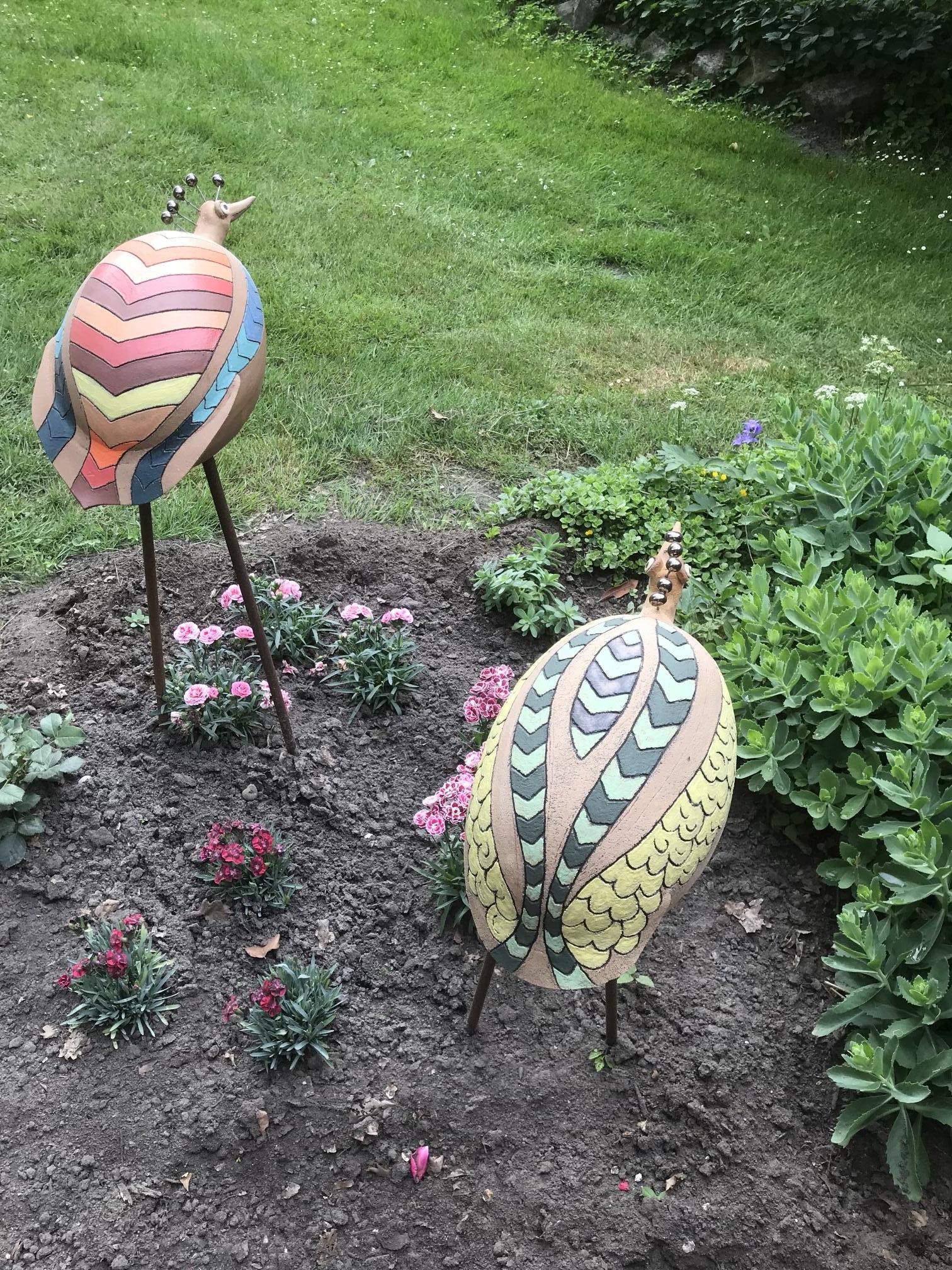 Full Size of Skulpturen Für Den Garten Images Tagged Keramik Gartenkunst Ginie Koolen Servierwagen Regal Glasböden Fenster Mit Eingebauten Rolladen Internat Baden Wohnzimmer Skulpturen Für Den Garten