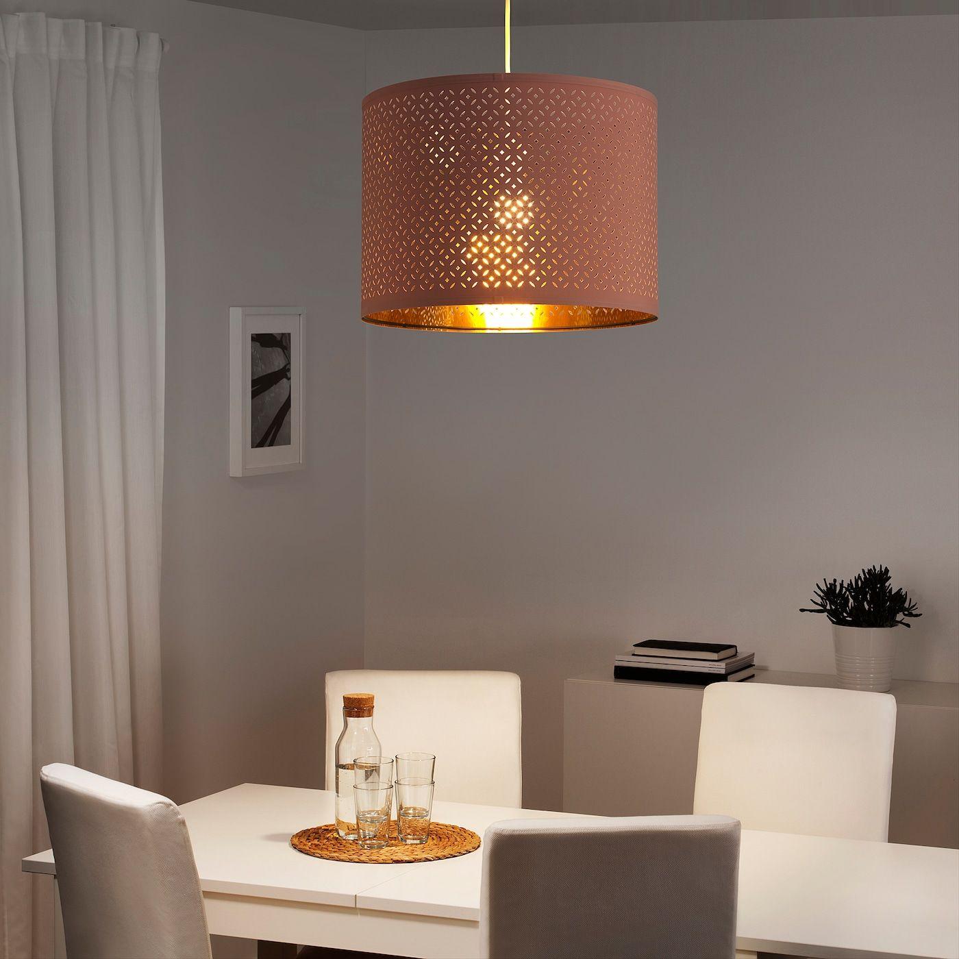 Full Size of Ikea Lampen Nym Leuchtenschirm Rosa Deckenlampen Für Wohnzimmer Miniküche Küche Kosten Bad Led Betten 160x200 Modulküche Modern Sofa Mit Schlaffunktion Wohnzimmer Ikea Lampen